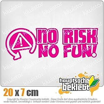 /No Risk No Fun Racing Course voiture/ /Autocollant pour voiture sticker Bomb Decals Tuning couvrir Kiwi Star autocollants/