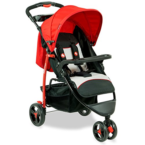 Fisher Price - ROVER Stroller Cum Pram - Red