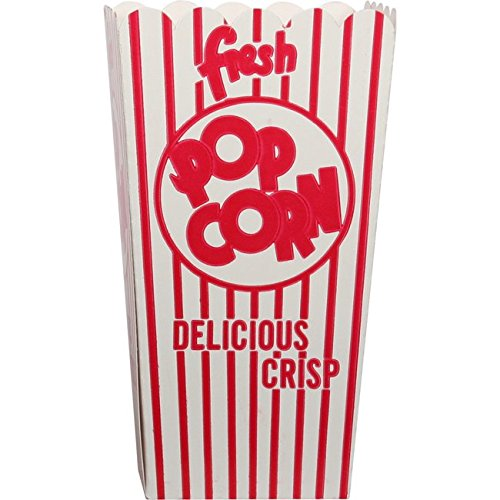 48E Open Top Popcorn Box (500/Case) by Snappy Popcorn (Image #1)
