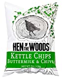 Hen of the Woods Kettle Chips | Buttermilk & Chive ~ 6oz (6 Count) | Healthy Snacks, Non GMO, Gluten Free, Grain Free For Sale