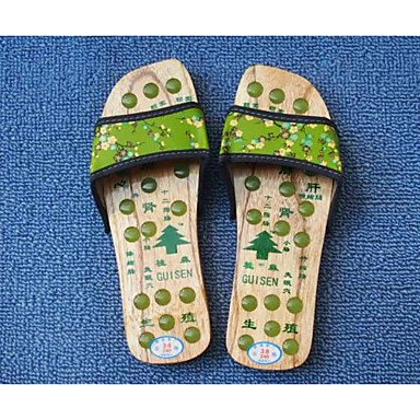 pwne Pisos De Mujeres Confort Par Zapatos Casual Primavera Pu Rojo Verde Plana De Café US8 / EU39 / UK6 / CN39