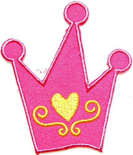 [Crown Princess Kid Lady Women Girl Love hippie Jacket Polo T shirt Patch Sew Iron on Embroidered Badge Costume] (Duct Tape Costumes Beer Can)