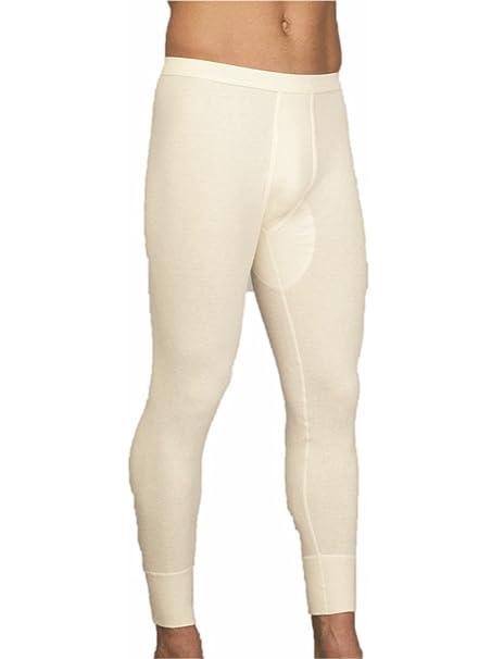 Angora 805 – 0700 Contagrip/lana virgen Ropa Interior Para Hombre Pantalón Largo con laterales