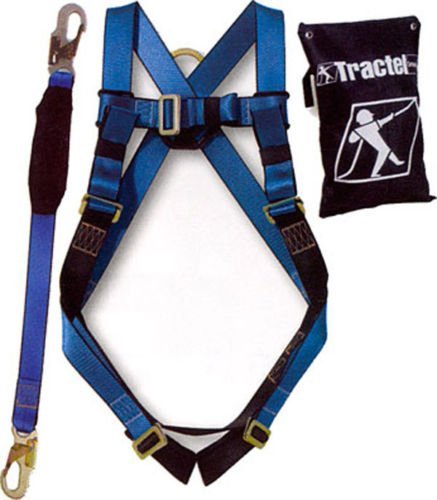 Tractel KIT-B01K Basic Fall Protection Kit with All Included In One Carrying Bag, One Size, Blue/Black by Tractel