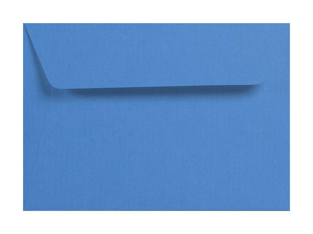 5 Umschlä ge 120g Azur Blau C6 Briefumschlag Clairefontaine