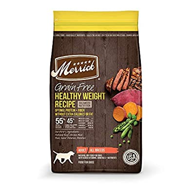 Merrick Grain Free Healthy Weight Beef Recipe Dry Dog Food
