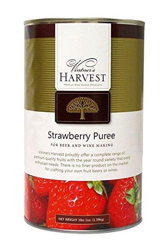 Home Brew Ohio Vintner's Harvest Fruit Puree-Strawberry 49 oz