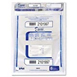 PM Company Securit Triple Protection Tamper-Evident Deposit Bags, 20 x 20, Clear by PM Company