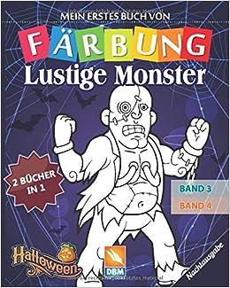Lustige Monster 2 Bucher In 1 Band 3 Band 4 Nachtausgabe