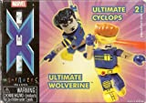 X-Men Minimates: Ultimate Wolverine and Ultimate Cyclops