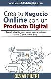 Crear tu negocio online con un producto digital En este libro encontraras de una forma compacta y en un lenguaje  sencillo, todo lo necesario para iniciarte  en tu negocio online, este libro esta enfocado en un negocio para la venta  d...