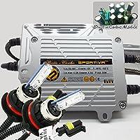 Sportiva 9007 Bi Xenon AC 55W Boltz Series Xenon HID Conversion Kit with Premium 55W CANBUS Ballasts