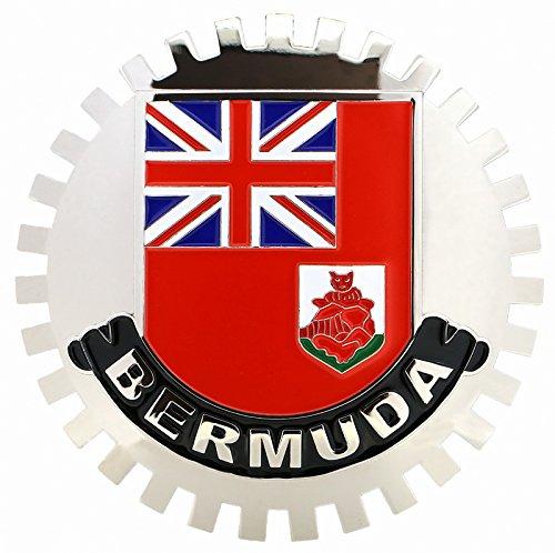 FLAG OF BERMUDA-CAR GRILLE EMBLEM BADGES .cccarbadges.