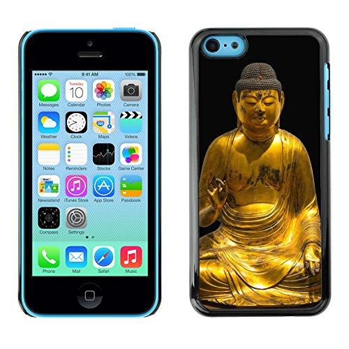 Premio Sottile Slim Cassa Custodia Case Cover Shell // F00018407 golden Buddha // Apple iPhone 5C