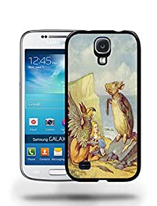 Vintage Alice in Wonderland Sketch Art Drawing Phone Case Cover Designs for Samsung Galaxy S4