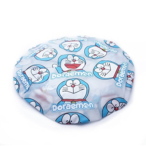 CJB Doraemon Bath Shower Caps Hats Blue (US (Doraemon De Halloween)