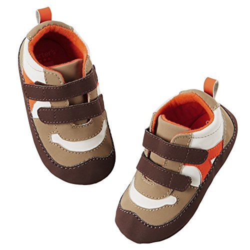 Price comparison product image Carters Baby Boys Joby Retro Rocker Crib Sneaker Grey 6-9M