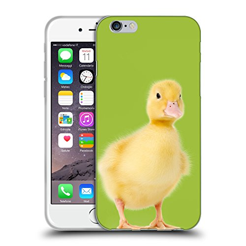 GoGoMobile Coque de Protection TPU Silicone Case pour // Q05780603 Canetons verde Android // Apple iPhone 7