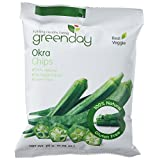 Green Day Real Vegetable Net 100% Natural Okra Chips Snack, 25 Gram (Pack of 3)