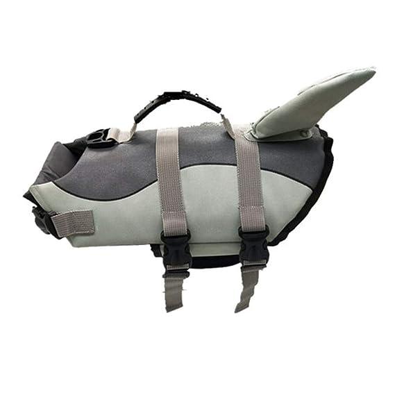 Ropa para Mascotas,Dragon868 Perro de Mascota Ajustable Exterior Chaleco Salvavidas con asa de Rescate: Amazon.es: Ropa y accesorios