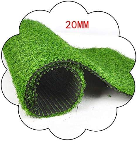 XEWNEG 20mm合成人工芝、暗号化された日焼け止め滑り止め、掃除が簡単、バルコニー中庭の犬小屋屋外装飾、多目的芝生用 (Size : 2x9M)