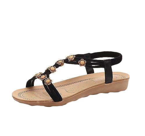 bb5de7ab5cb cnWay Roman sandals girls shoes hollow weave high cool open-toed boots women  women cutouts Gladiator Sandals Flat Knee High Boots Women High Calf Knee  High ...
