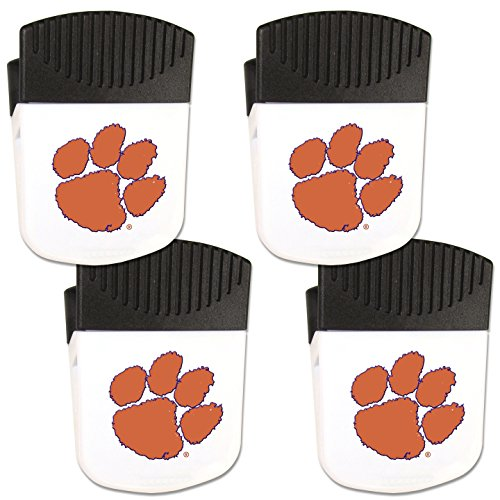 - Siskiyou NCAA Clemson Tigers Chip Clip Magnet with Bottle Opener, 4 Pack