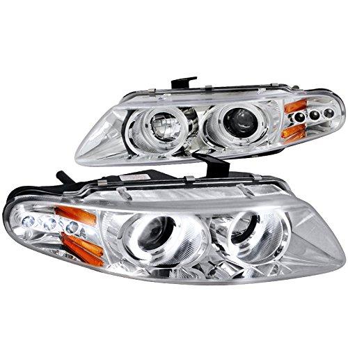 Spec-D Tuning 2LHP-AVG97-TM Dodge Avenger Chrysler Sebring Coupe Chrome Clear Halo Led Projector Head Lights ()