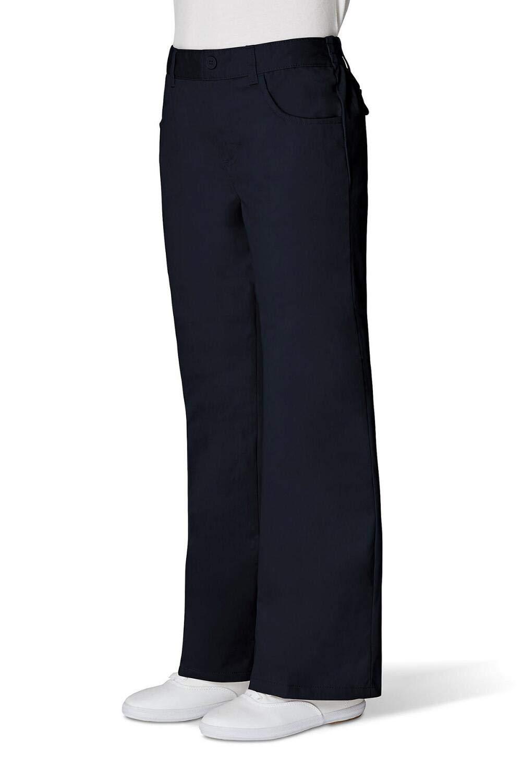 French Toast Girls Adjustable Waist Pant Girls Navy 12 Slim