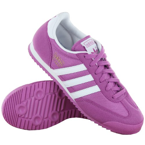 adidas dragon purple white