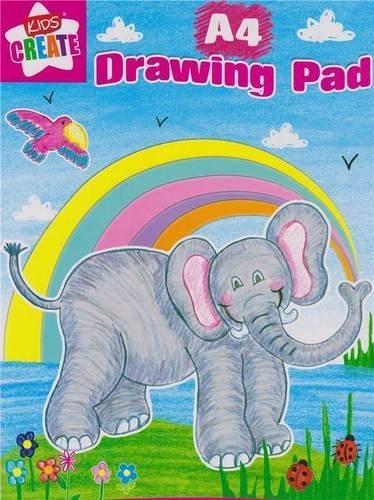 Anker-Kids Create Kunst und Handwerk Papier Pad, Kunststoff, pastell, A4, 40Stück 40Stück SUZP/2