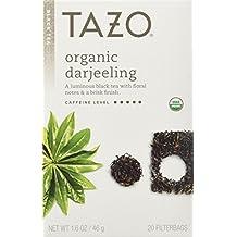 Tazo Organic Darjeeling Black Tea, 20-Count Tea Bags (Pack of 6) by TAZO