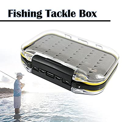 The Elixir Advenature Waterprooof Fly Fishing Tackle Box Lure Lures Spoon Hook Bait Storage Box Case