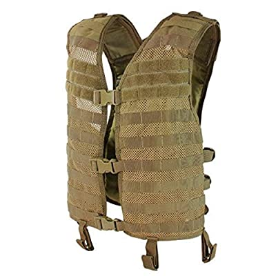 Condor Mesh Hydration Vest - Coyote - MHV-498 - New