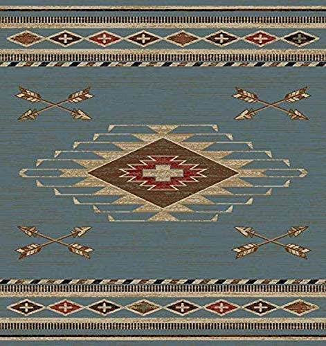 Mayberry Rugs Arrowhead Area Rug, 5 3 x7 3 , Blue