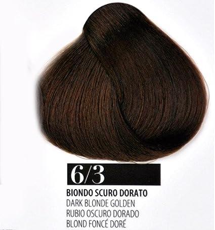 Tinte Pelo 6/3 Rubio Oscuro Dorado farmagan Hair Color Tubo ...
