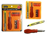 13 PC Screwdriver & Knife Set , Case of 96