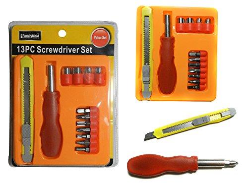 13 PC Screwdriver & Knife Set , Case of 96