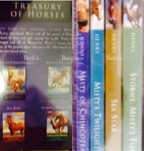 Treasury of Horses: Misty of Chincoteague / Misty's Twilight / Sea Star / Stormy Misty's Foal (Box Set)