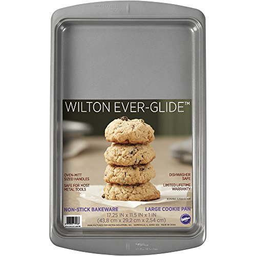 Wilton 2105-7946 Ever-Glide Cookie Pan Large, 11x 7 Sheet