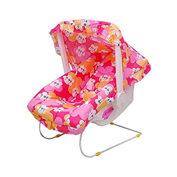 BabyGo Baby Carry Cot Multifunction Comfort Thick Cushioned Seat (Pink)