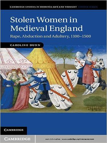 Stolen Women in Medieval England (Cambridge Studies in