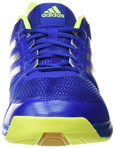 adidas Herren Multido Essence Handballschuhe Blau (Reauni/plamet/azuimp)