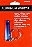 Aluminum Whistle for Safety, Dog Training, Sports and More