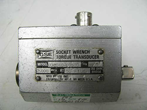 Torque Socket Transducer - GSE Socket Wrench Torque Transducer 50 ft Lbs - GSE1