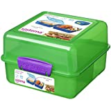 Sistema Lunchbox Cube, 1.4L, Green