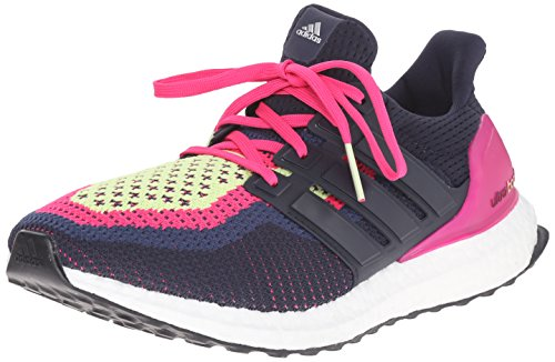 adidas Performance Women's Ultra Boost Running Shoe,Night Navy/Night Navy/Equipment Pink,8.5 M US