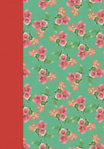 Chintz Flowers (Sage with Pink Flowers Chintz Notebook - Creative Journal: 7x10, Cream Paper, 5mm Dot Grid, 184 Pages)