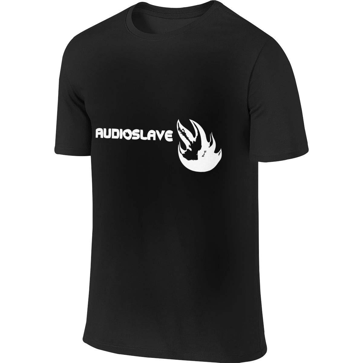 Wangsiwe Audioslave S Classic Short Sleeve Tees Shirts Tops
