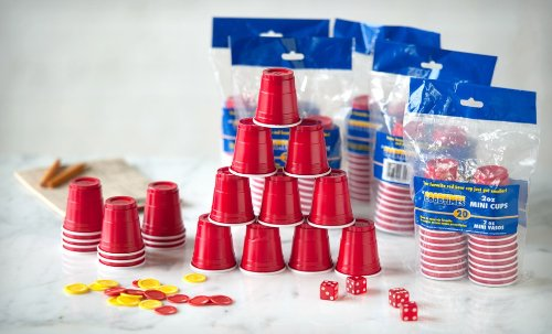 Amazon.com: 2oz MINI RED PARTY CUPS (3 packs of 20 cups) ~ perfect ...